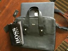 NWT*****HUGO BOSS Men's Briefcase leather