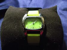 Women's Adidas Watch with  Two Tone Green  Band **Nice** B36-569