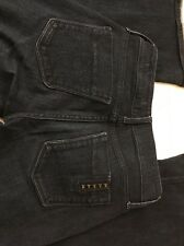 Black Orchid Dark Blue Flare Jeans 25x34