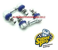SUPERPRO FOR SUBARU IMPREZA WRX Sti GRB GV FRONT ADJUSTABLE SWAY BAR LINK KIT