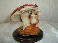 VINTAGE COUNTRY ARTISTS - MOUSE WITH FLY AGARIC 1998