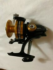 Vintage Penn 750SS Spinning Reel Black and Gold
