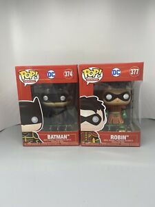 Funko Pop! Heroes Batman and Robin Imperial Palace DC 374 + 377