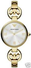 New Women's Emporio Armani AR1774 Watch Tags Warranty Box RRP $549