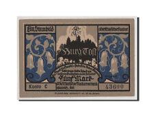 [#353374] Notgeld, Oberschlesien, Gleiwitz, 5 Mark (1922), Kono E 43600, Mehl