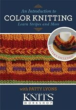 An Introduction to Color Knitting Learn Stripes & More with Patty Lyons DVD