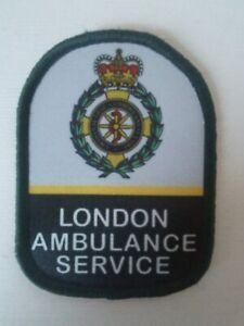 """3"""" London Ambulance Service Paramedic Sublimation Vel Hook Patch"""