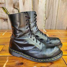 💥Dr. Martens Doc England MIE Rare 90's Vintage Black 1919 Boots UK10 US11💥