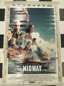 MIDWAY MOVIE POSTER 2 Sided ORIGINAL FINAL 27x40 ED SKREIN MANDY MOORE