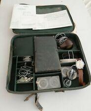 Cold War Protona 'Spy Watch' Recording Device & Full Set Of Minifon Accessories