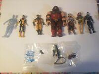 Marvel Legends Juggernaut Baf Figure Lot with Figures and Weapons A