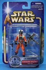 STAR WARS ULTRA RARE Convention Exclusive commandant Jorg Sacul as Rebel pilote.