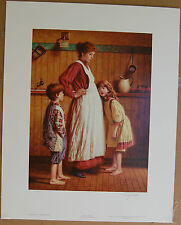 Jim Daly A New Citizen Limited Edition Fine Art Print Expectant Mother Children