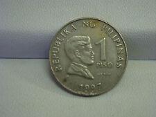 1997 REPUBLIKA BANGKO SENTRAL NG PILIPINAS  1 Piso Philippines Coin