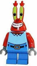 LEGO Rare Spongebob Squarepants Minifig Mr Krabs 3825 New Minifigure