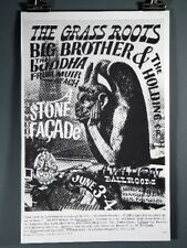 Grass Roots,Big Brother & the Holding Co.Vintage Poster