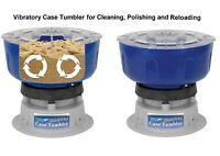 Reloading Media Tumbler Rotary Brass Cleaner Case Gun Ammo Bullet Shell Polish