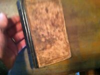 BOOK ANTIQUE 1863  NORMAL  WRITTEN ARITHMETIC  CIVIL WAR ERA               x-16