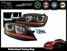FARI ANTERIORI HEADLIGHTS LPVWM2 VW GOLF 7 2012- U-TYPE LINE GTI LOOK