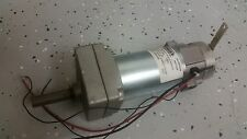 Statuce Electric 5077-060, 20:1 Gear Servo Motor 24VDC, 4.5A, 130rpm with BRAKE