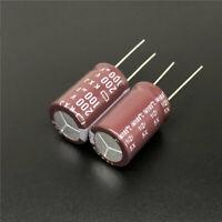 20//100Pcs 100uF 25V SUNCON SZ 6.3X7 25V100uF Electrolytic Capacitor SANYO