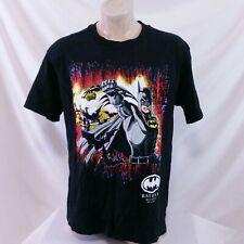 Vintage 1991 Batman Returns T Shirt Movie Promo Tee 90s Comic Penguin Joker XL