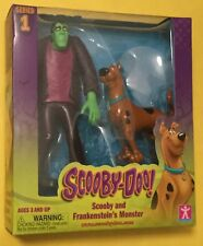 "Scooby Doo Series 1 5"" FRANKENSTEIN MONSTER Action Figure 2-Pack WHERE ARE YOU?"