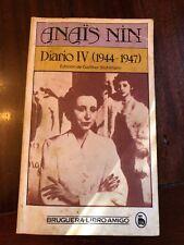 Anais Nin, Diario IV, 1944-1947 / Anaïs Nin