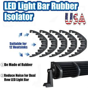 """5X Noise Isolator Silencer Resonance Damper For 50"""" 52"""" LED Light Bar Offroad US"""
