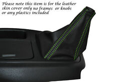 GREEN STITCHING LEATHER MANUAL GEAR GAITER FITS HYUNDAI I LOAD 2008-2014