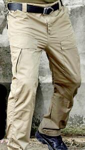 Men's Waterproof Tactical / Military Multi Pocket Pants