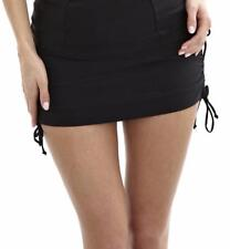 PANACHE ANYA  SKIRTED SWIM BIKINI BOTTOM  XL  (black)