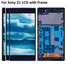 OEM LCD Display Touch Screen Digitizer Frame For SONY Xperia Z1 L39H C6902 C6903