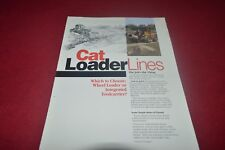 Caterpillar Loader Lines For 1989 Dealer's Brochure Cdil