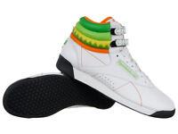 Reebok Classic Freestyle High Tops Sushi International Women's Shoes Sneakers