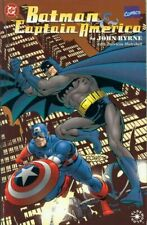 Batman & Captain America (Marvel/DC crossover)  #1 Elseworld (Newsstand Edition)