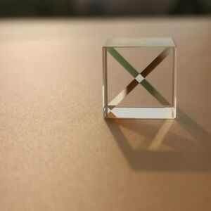 15mm Cubic Glass Science Cube Optical Prisma Photography with Hexahedral 1pcs