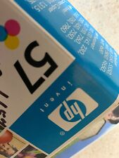 HP 57 Color Ink Cartridge New Expired July 2005