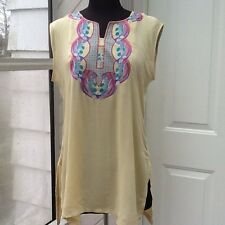 NEW- Woman's Size Small Wheat Color Top