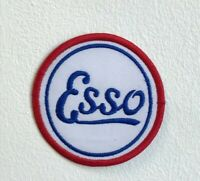 Esso Motor Oil badge Embroidered Iron Sew on Patch j1600