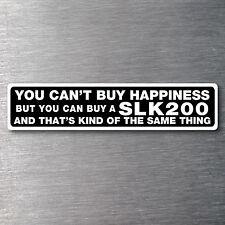 Buy a SLK200 sticker 200mm quality water/fade proof vinyl Mercedes