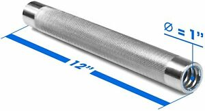 Dumbell Connector Bar SKU-9KSP B07Y2T7B7G (Single - 1 Inch - 3 LBS)