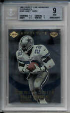 Emmitt Smith Shockwaves Gold 1999 Collect Edge Advantage #SW5 BGS 9 Mint COWBOYS