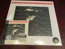 DAVID BOWIE STATION TO STATION RARE JAPAN Replica TO ORIGINAL OBI CD+180 GRAM LP