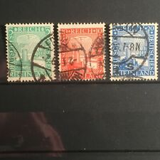 SCOTTS #347-349 1925 GERMANY STAMPS USED