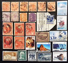 Stamps From Australia States + Antartic Territory