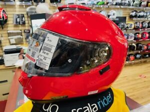 SHOEI GT-AIR SHINE RED X-SMALL SIZE HELMET BRAND NEW 0118013103