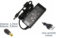 Alimentatore Notebook 90W 19V 4.74A PER ACER 5.5mm x 1.7mm LAPTOP PC COMPUTER