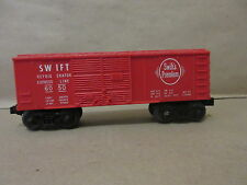 Lionel Train 6050 Swifts Premium Refrgerator Bank Boxcar Express Line O Scale