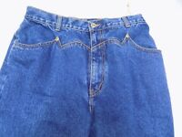 NWOT Vtg Lawman Western Blue Jeans Rodeo Denim Slim Fit Boot Cut Jr 13 30X36
